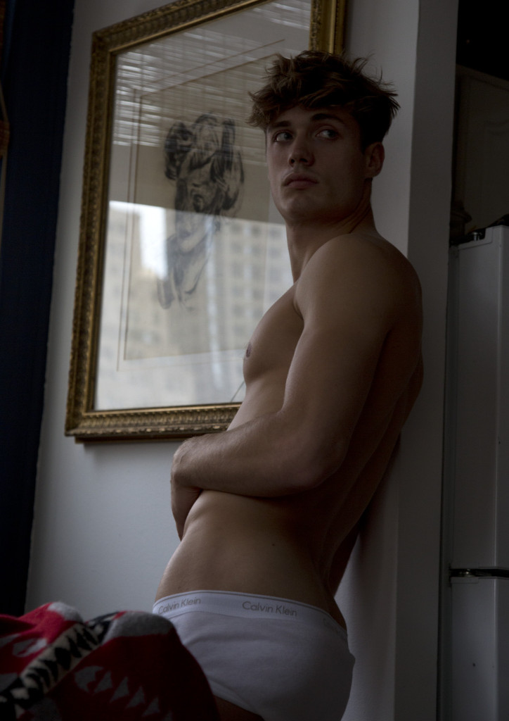 Steven Chevrin at New York Models by Karl Simone