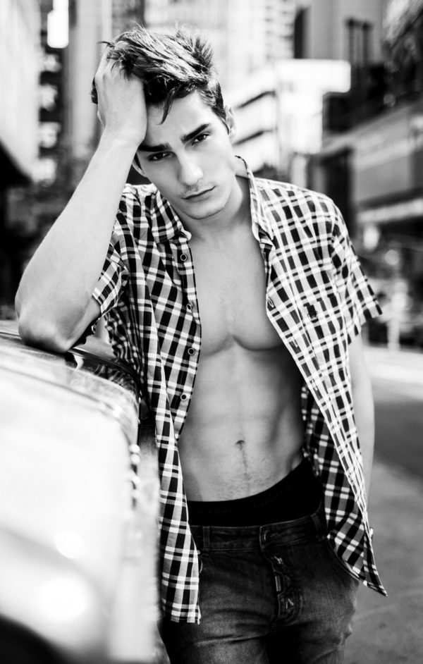 Tony Pilato at VNY Models by Hugo Nogueira for Yearbook