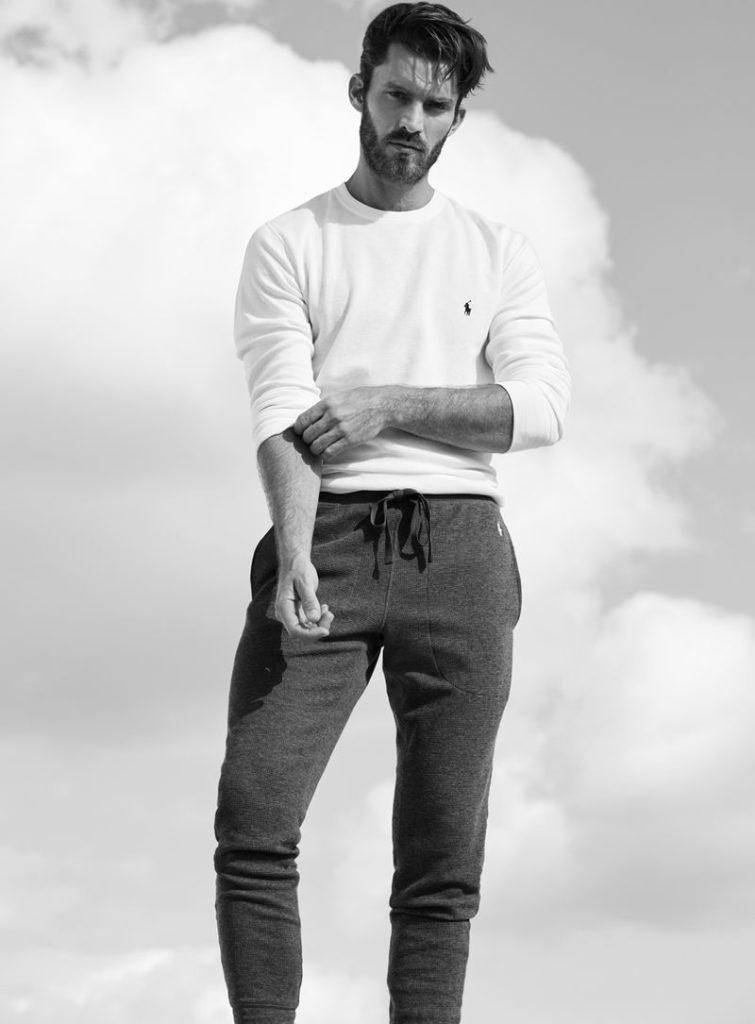 Black models male lauren ralph Polo