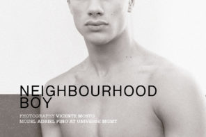 Adriel Pino at Universe Mgmt by Vicente Mosto