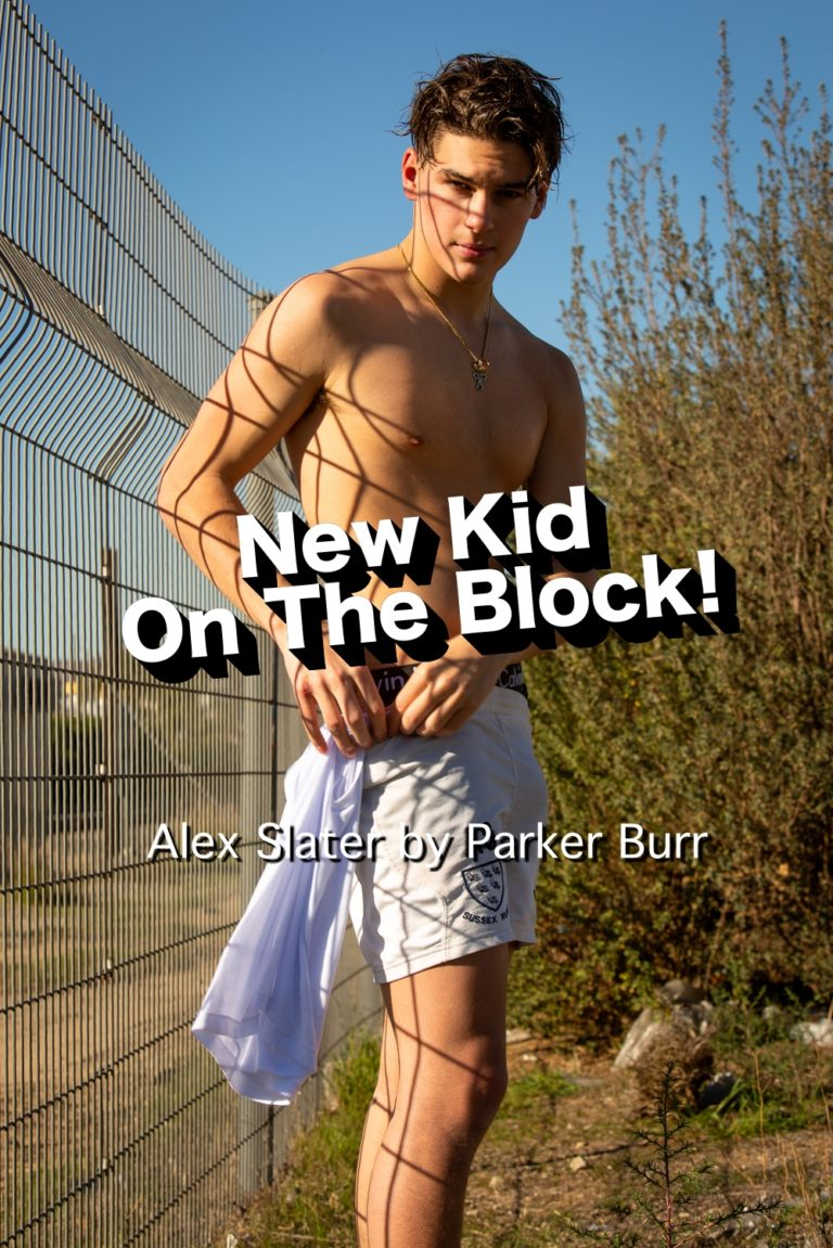 Alex Slater by Parker Burr for Yearbook Online - Yearbook